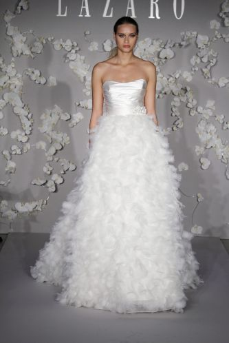 Lazaro Wedding Dress Style LZ3013 OneWed