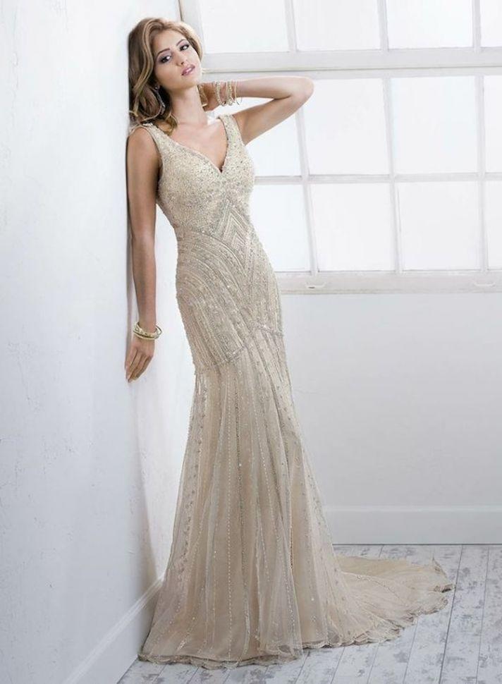 Wedding Dress With Gorgeous Beading