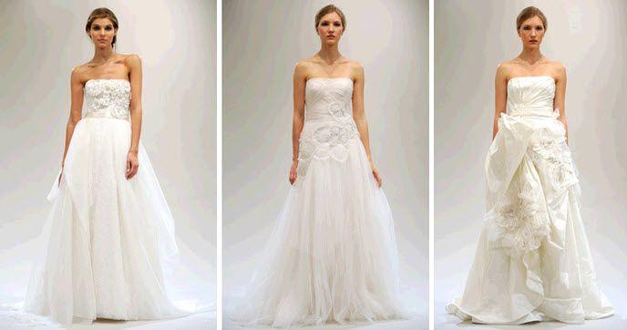 Spring 2011 Bridal Runway: Reem Acra Wedding Dress