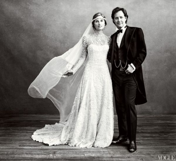 200 Hands, 3,000 Hours, and a Celebrity Wedding Dress was Born