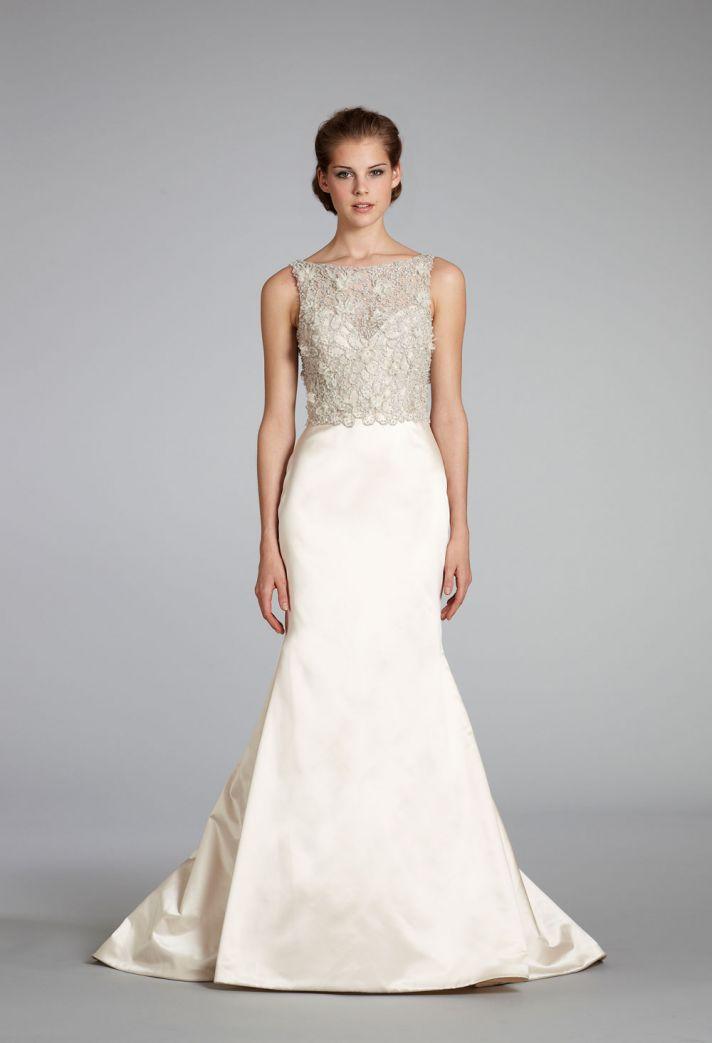 11 Exquisite Wedding Dresses From Lazaro