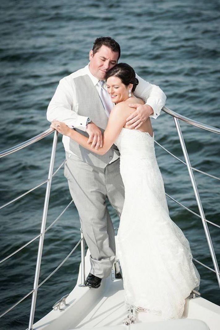 Couple on a Cruise Ship
