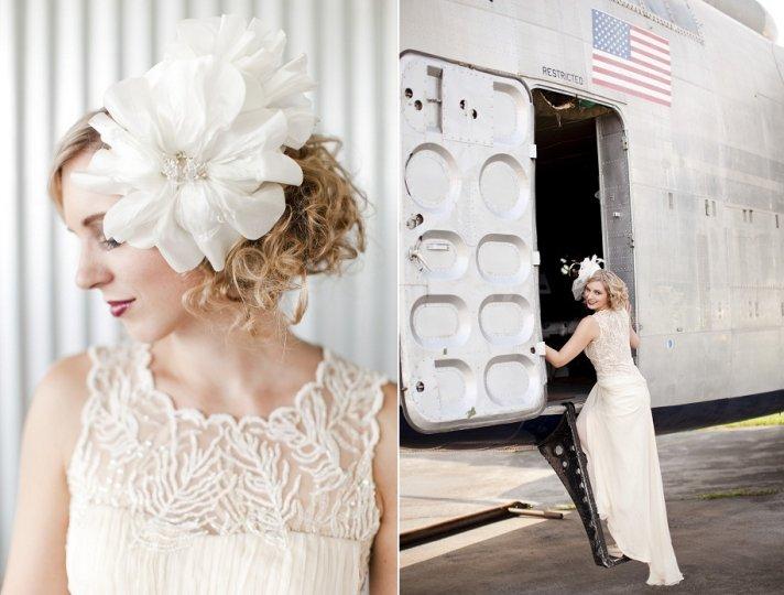 Ultra-Feminine Wedding Hair Accessories By Portobello