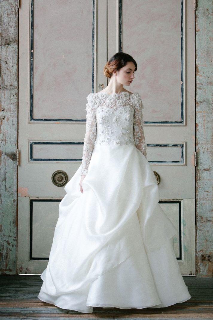 A Thick Wedding Dress
