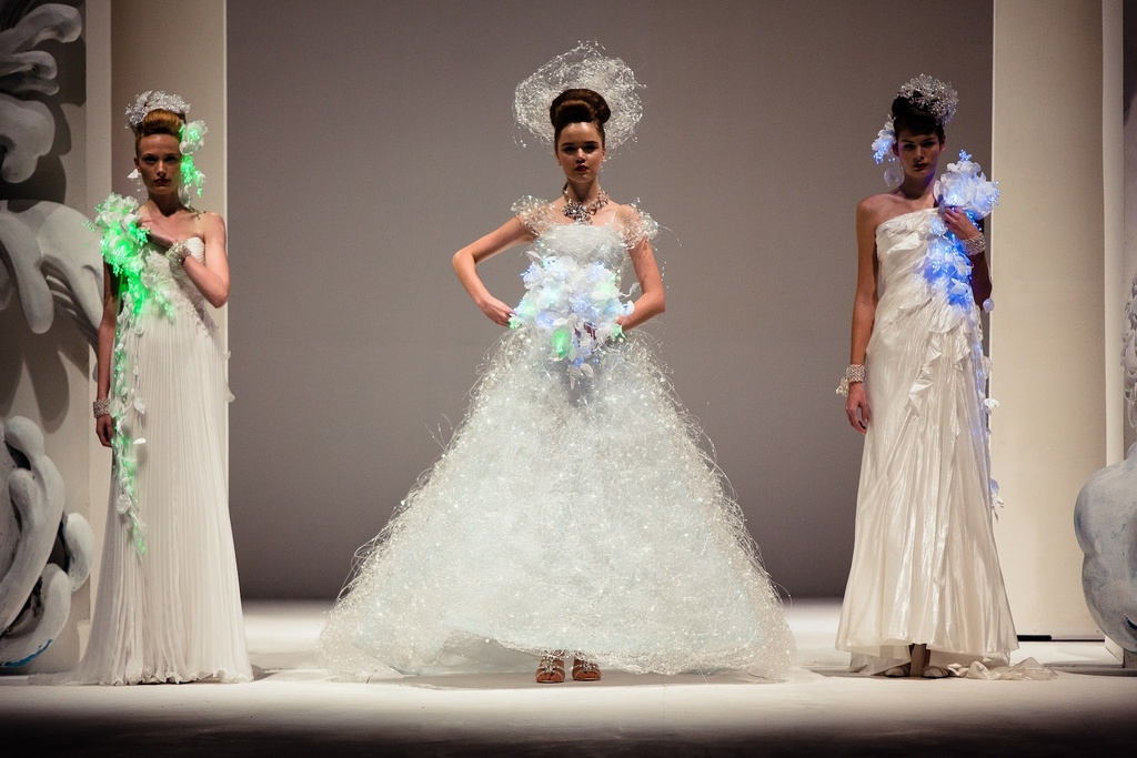 Dramatic Bridal Couture Yumi Katsura 2013 Wedding Dress