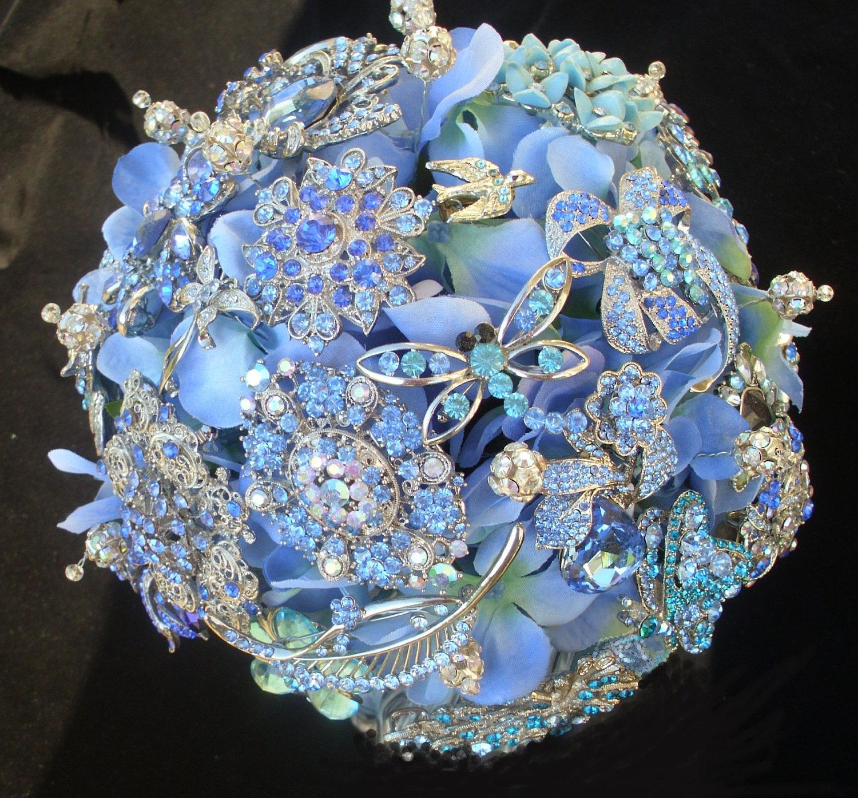Southern Blue Celebrations Blue Wedding Bouquets Ideas