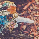 Vintage Fall Wedding Unique Brooch Bouquet