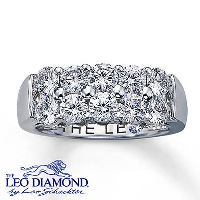 Kay Jewelers Diamond Anniversary Ring 1 34 Ct Tw Round Cut