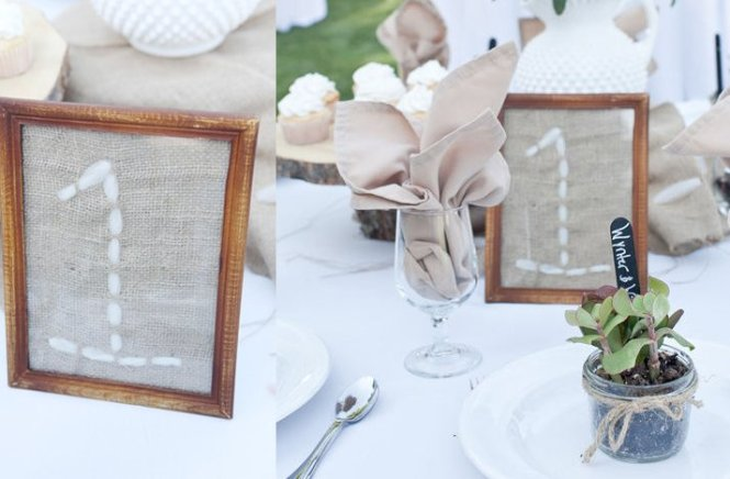 Wedding Reception Table Decorations Diy On With 20 Number Ideas 16