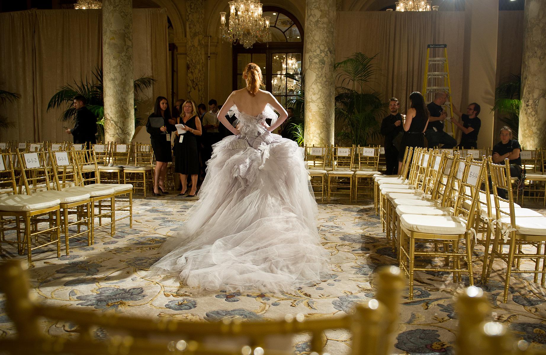 Dramatic Marchesa Bridal Gown