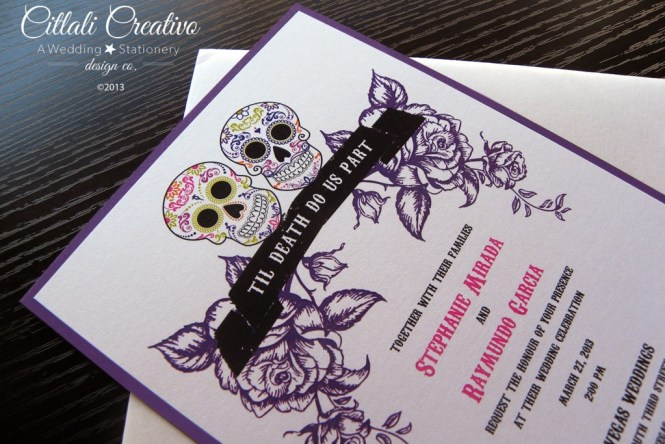 Amazing Purple Wedding Invitations Luxury