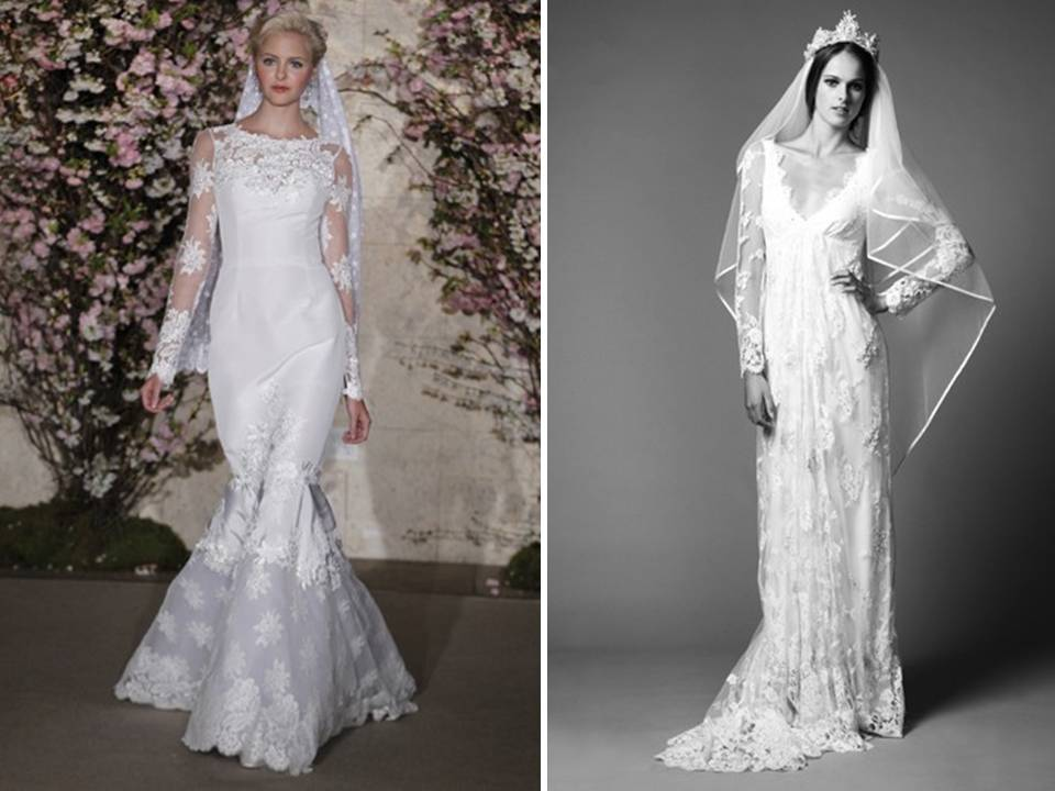 Wedding Dresses With Sleeves Are Definitely On-trend For