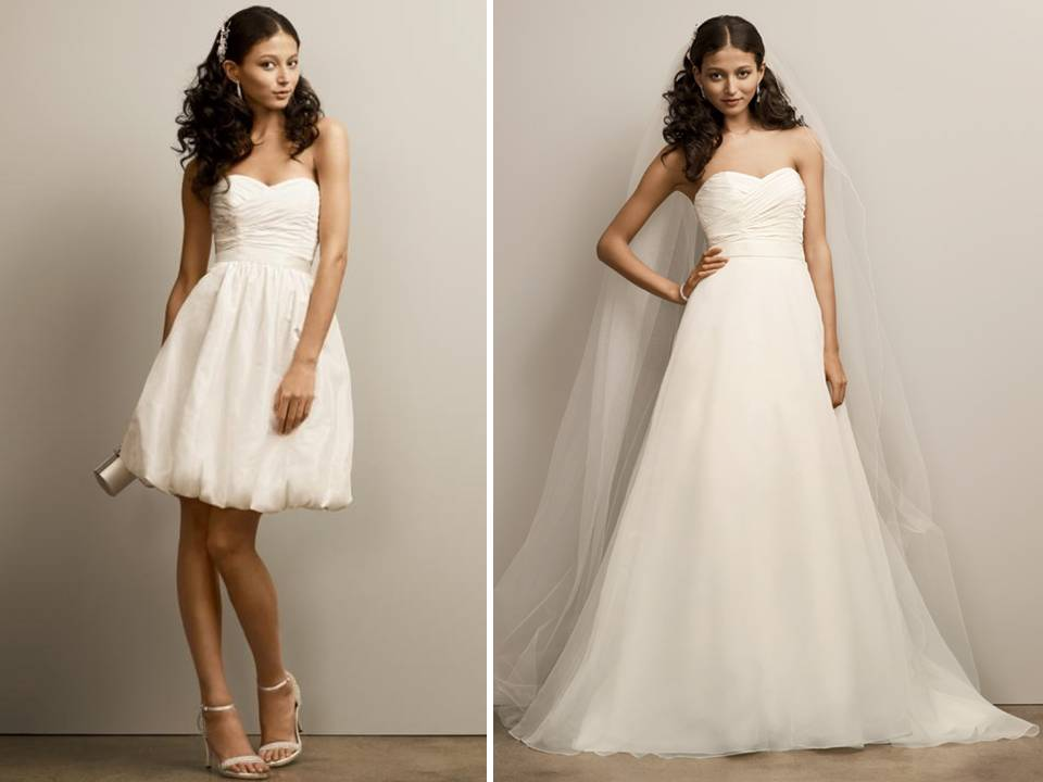Sweetheart Neckline 2-in-1 Wedding Dress From David's