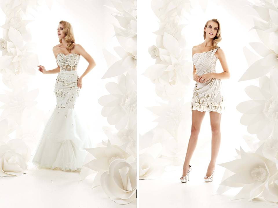 Glamourous 2011 Wedding Dresses By Simone Carvalli