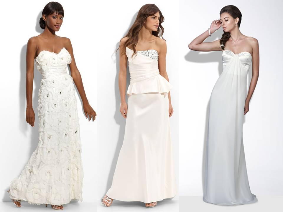 Chic, Sophisticated 2011 Wedding Dresses From Nordstrom's