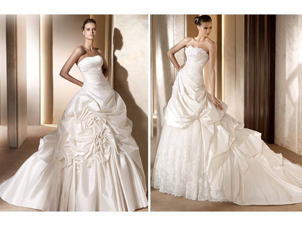 Ball Gown Wedding Dresses From 2011 Pronovias Collection