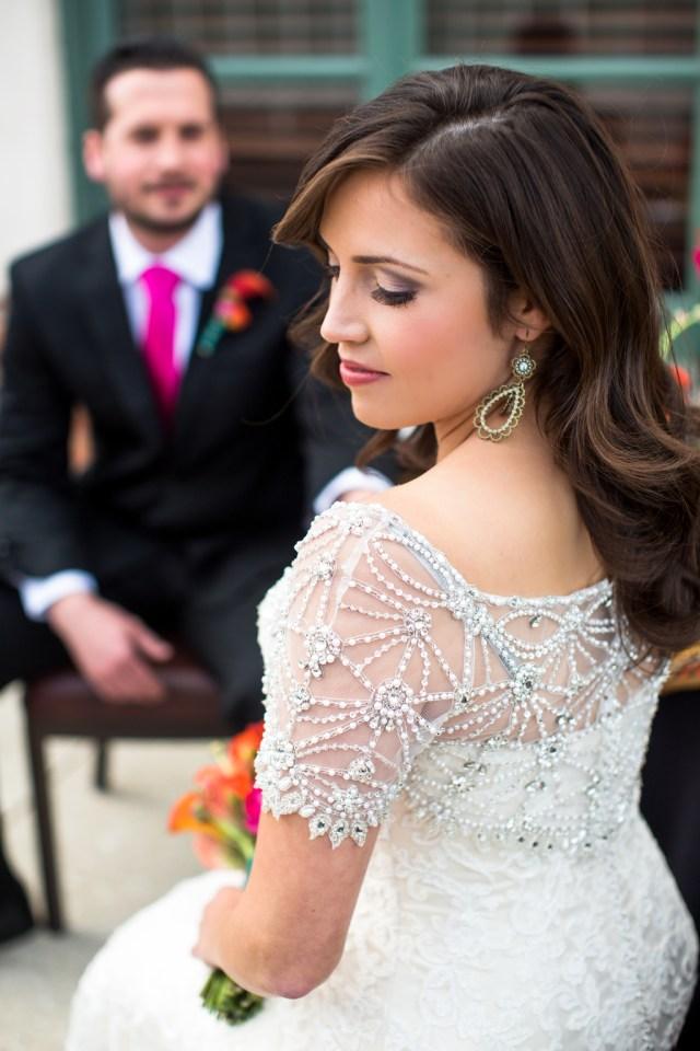 hotel andaluz, albuquerque nm. bridal hair & makeup