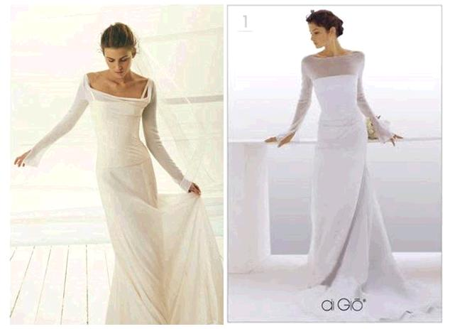 Sleeves That Are Long And Straight On Your Wedding Dress