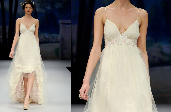 Ugly Wedding Dresses Too Low Cut