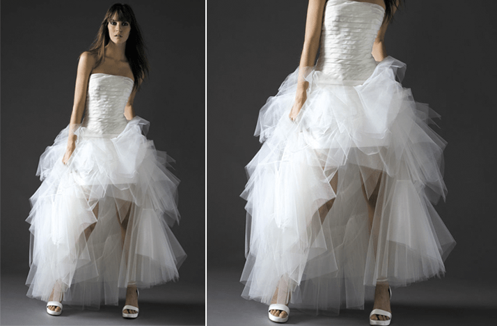 Ugly Wedding Dresses Ballerina Gone Bad
