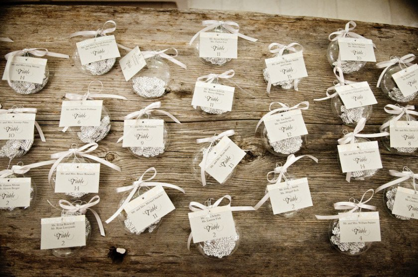 Nautical Themed Wedding Reception Place Cards And Frames
