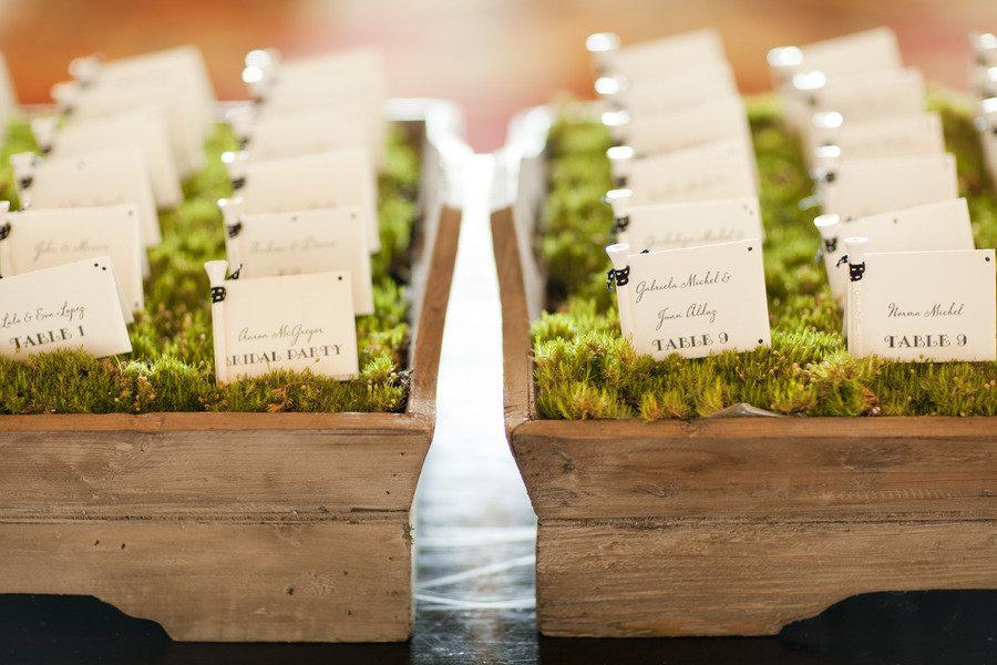 Creative Wedding Reception Ideas Escort Cards 3
