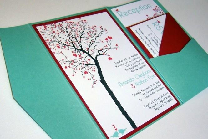 Budget Wedding Ideas Diy Invitations Etsy Weddings Teal Red