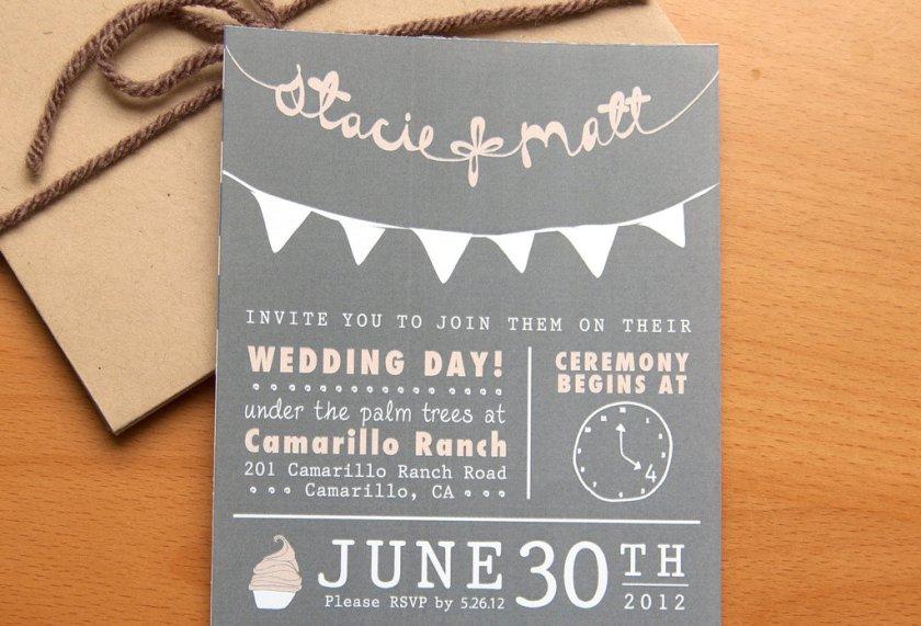 Wedding Invitations Etsy Custom