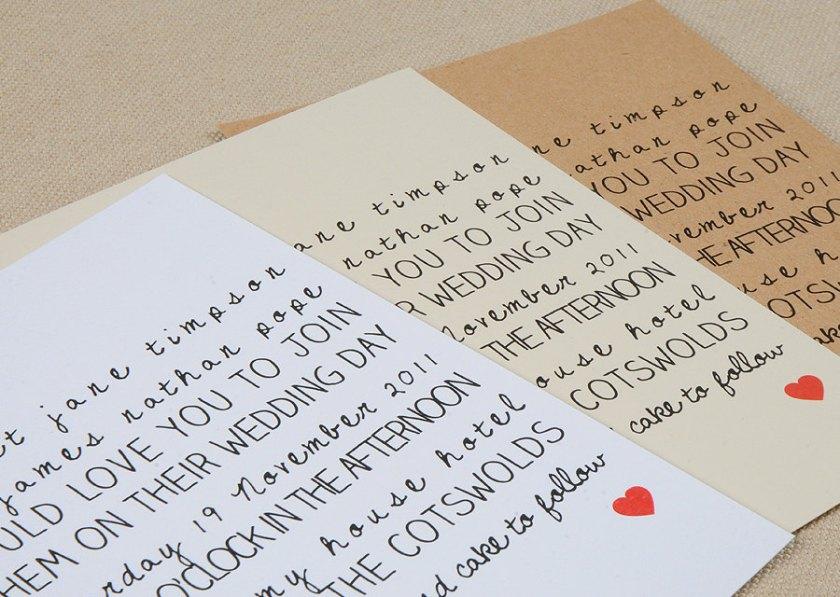 Wedding Invitations For Modern Weddings Etsy Finds Handwritten