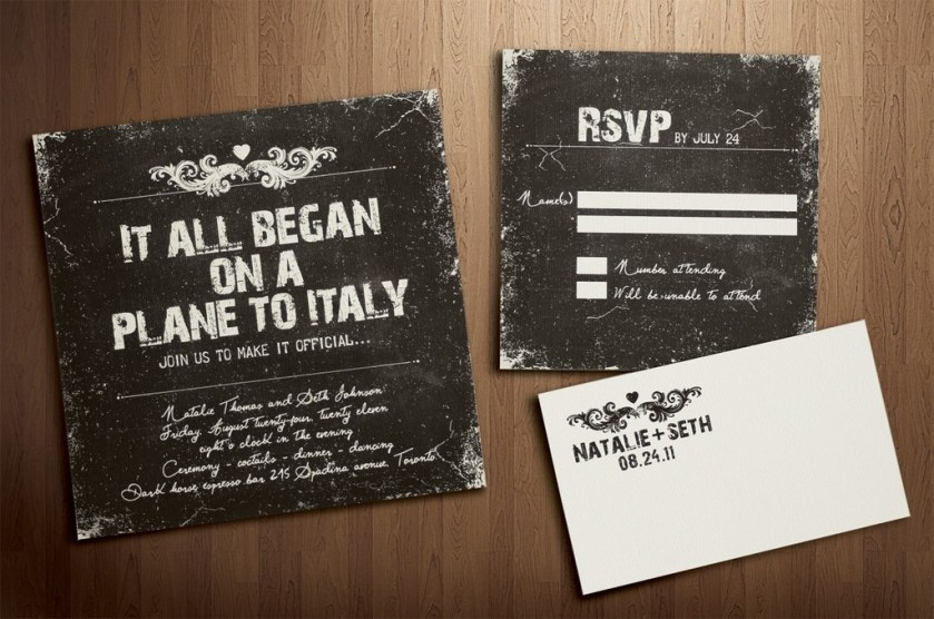 15 Fun Wedding Finds On Etsy Handmade Weddings Vine Invitation
