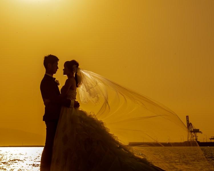 熊本前撮りオススメのロケ地:裏新港│熊本の前撮り・フォトウェディングはTHE WEDDING TOWN