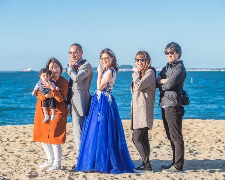 福岡 百道浜での前撮り│福岡の前撮り・フォトウェディングはTHE WEDDING TOWN