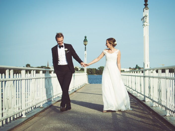 Hochzeit in Hamburg - very british