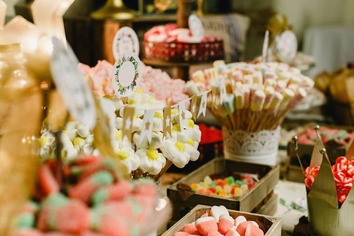 candy bar pianki