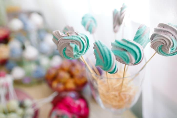 lizaki słodki stół wesele