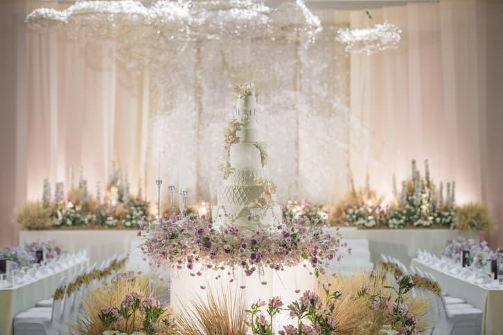 tort ślubny prezentacja sala weselna