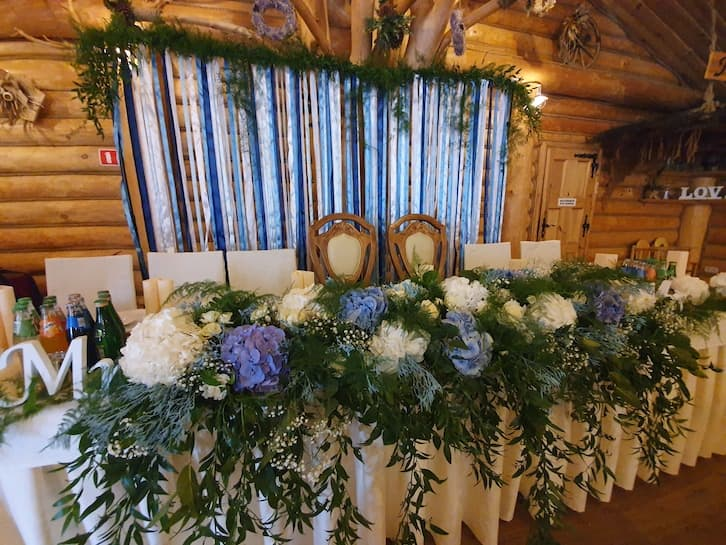 kwiaty na wesele folk