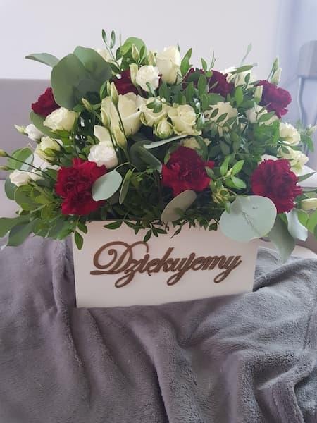 kwiaty na wesele podziękowania dla rodziców