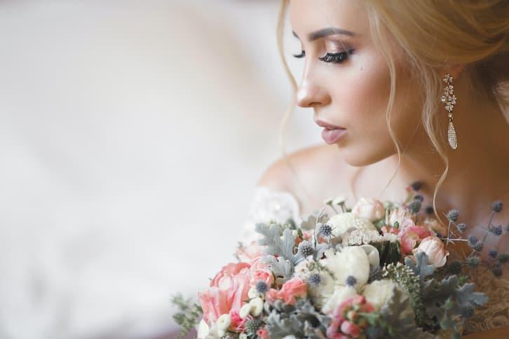 makijaż na ślub blondynka