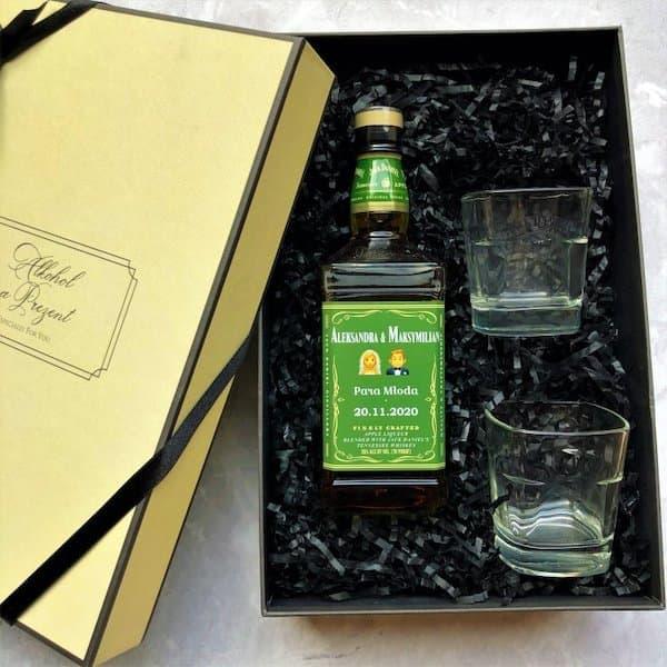 zestaw whisky dla młodej pary