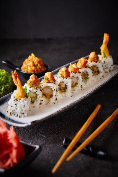 zestaw sushi prezent wesele