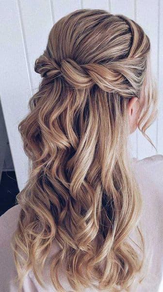 upięcie loki boso długie włosy