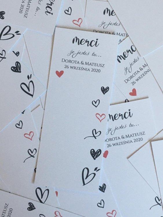 z papieru zaproszenia ślubne premiery wedding