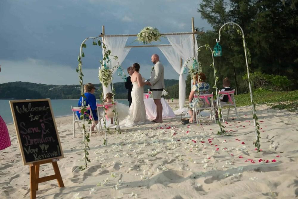 Phuket beach wedding vow renewal (3)