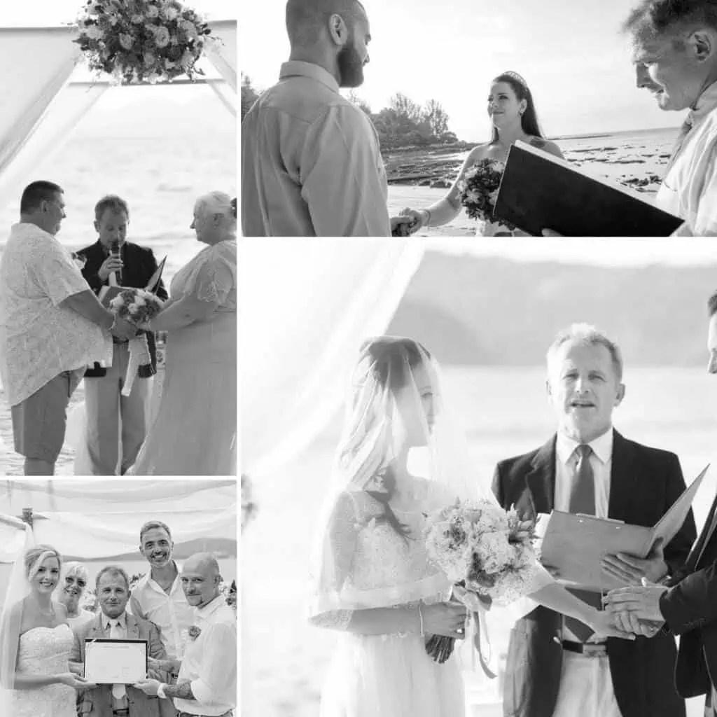 Phuket April Weddings - Wedding celebrant asia phuket april 2017 main bw