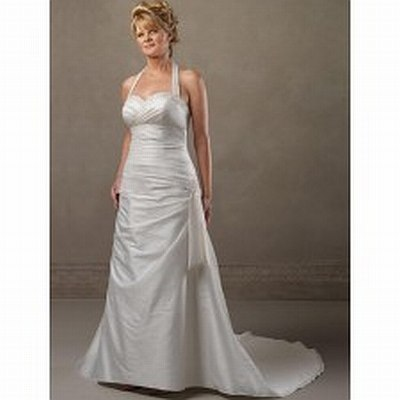 3.	Hand beaded taffeta gown