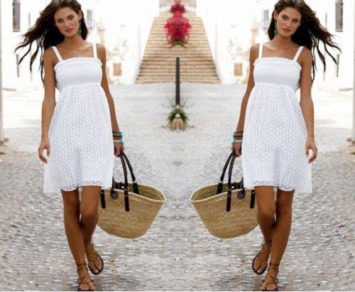 American Eagle's White Lace Dress