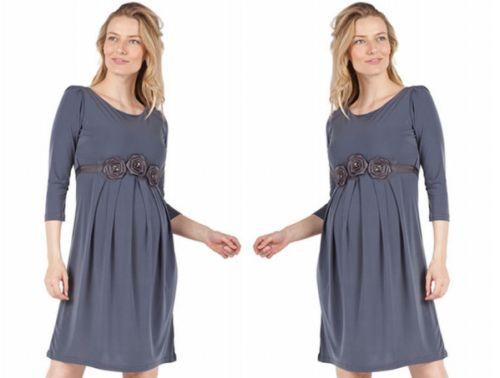 Bellyssima Ity Long Sleeve Dress