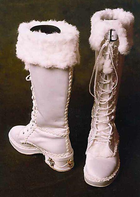 bridal boots 1