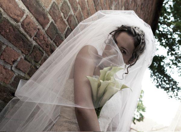 Bridal veil DIY